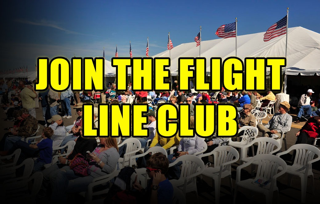 Flight Line Club Button
